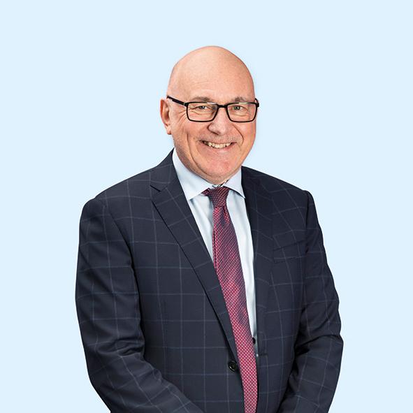 A large portrait of Glen Sabin